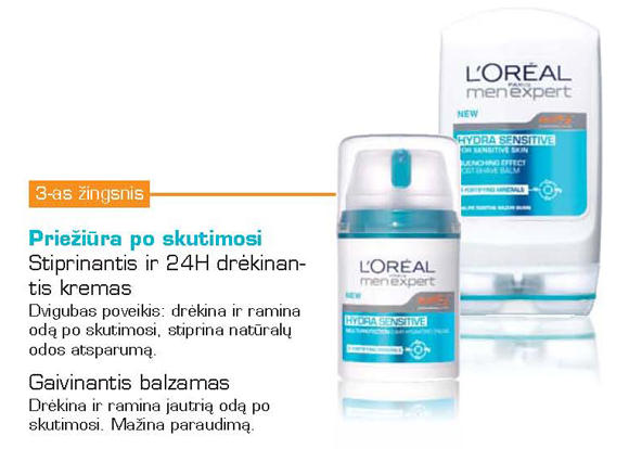 LOréal Paris nuotr./LOréal Paris
