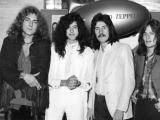 Scanpix nuotr./Led Zeppelin 1969-aisiais: (ia kairės) Robertas Plantas, Jimmy Page'as, Johnas Bonhamas ir Johnas Paulas Jonesas