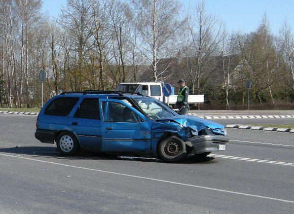 Telaių apskrities VPK nuotr./Ford ir Volvo avarija