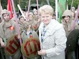 Šarūno Mažeikos/BFL nuotr./Prezidentė Dalia Grybauskaitė