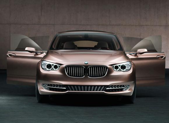 Gamintojo nuotr./BMW 5 GT koncepcija  karačiausia gamintojų naujiena