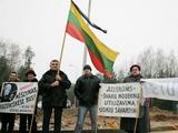 `arūno Mažeikos/BFL nuotr./Dėl Kazokiakių sąvartyno surengtas ne vienas protestas