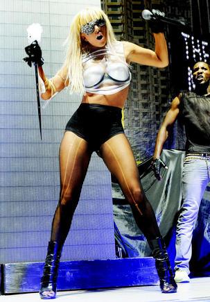Scanpix nuotr./Lady GaGos koncertas Stokholme pakerėjo Eleną Puidokaitę-Atlantą.