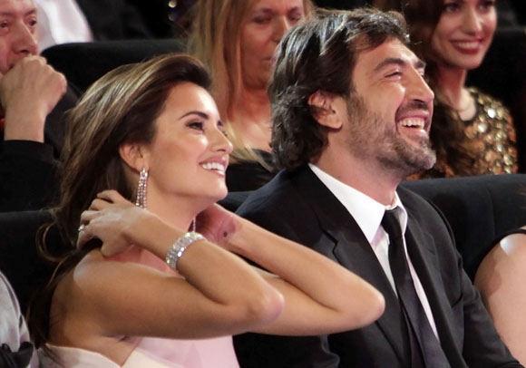 Scanpix nuotr./Penelope Cruz ir Javieras Bardemas