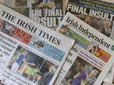 """AFP/""""Scanpix"""" nuotr./Airijos spauda džiaugiasi prancūzų nesėkme"""