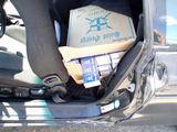 VSAT nuotr./Skuodo rajone sulaikytas automobilis su kontrabandinėmis cigaretėmis