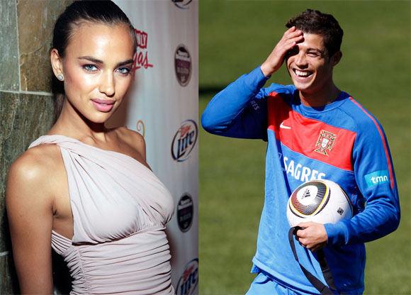 Scanpix nuotr./Irina Shayk ir Cristiano Ronaldo