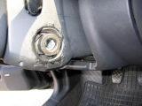 VSAT nuotr./Išlaužta automobilio užvedimo spynelė