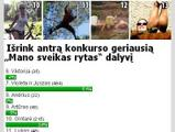 Balsavimo rezultatai
