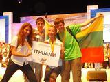 Organizatorių nuotr./Tarptautinėje biologijos olimpiadoje trečius metus iš eilės visi Lietuvos mokiniai pelnė apdovanojimus.