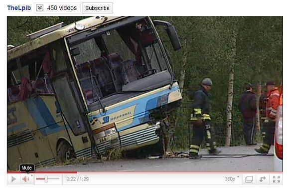 YouTube.com stop kadras/Įvykio vietoje