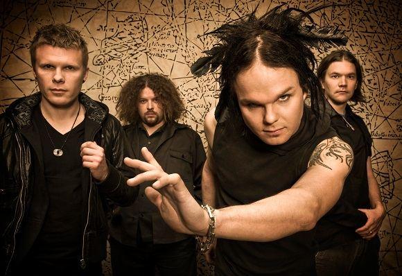"Grupės ""The Rasmus"" nariai iš kairės: Aki Markus Hakala, Pauli Antero Rantasalmi, Lauri Johannes Ylonen, Eero Aleksi Heinonen."
