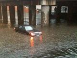 Skaitytojo nuotr./`eatadienį Klaipėdą vėl plovė lietus.