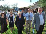 Seimo nuotr. /Prezidentė D.Grybauskaitė lankosi labiausiai nuo stichijos nukentėjusiuose rajonuose.