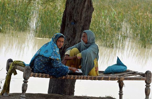 Scanpix nuotr./Potvynis Pakistane
