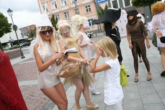 Juliaus Kalinsko/15 minučių nuotr./Lady Gagos nustebino Vilniaus gyventojus ir svečius