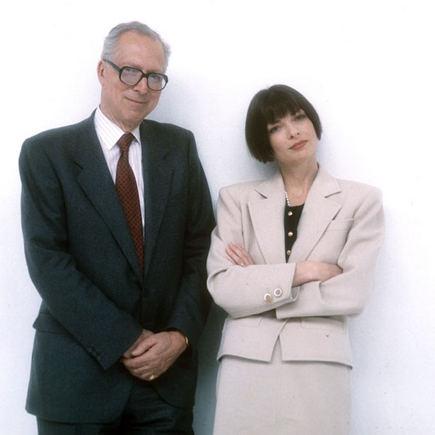Scanpix nuotr./Anna Wintour su savo tėvu