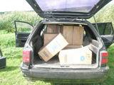 VSAT nuotr./VSAT pareigūnų sulaikyta kontrabandininkų automobilis