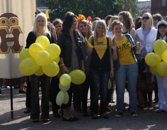 A.Kripaitės/15min.lt nuotr./Klaipėdos universitetas švenčia Mokslo metų pradžią.
