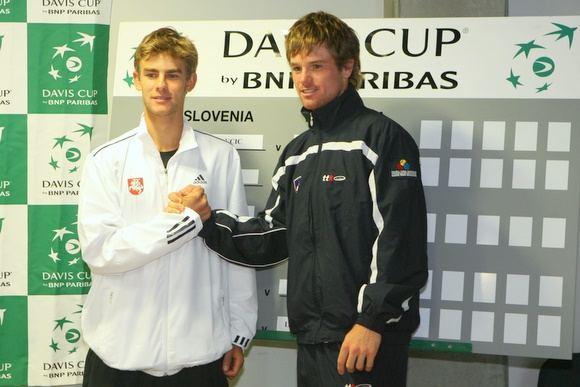 L.Grigelis (kairėje) ir B.Kavčičius