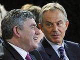 """AFP/""""Scanpix"""" nuotr./T.Blairas ir G.Brownas"""