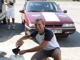 Asmeninio archyvo nuotr./Keturi VU Ekonomikos fakulteto studentai aliejumi varomu automobiliu apkeliavo Balkanų pusiasalį.
