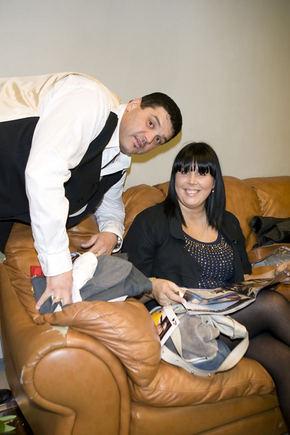 Vitalijus Cololo su žmona