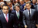 """""""Reuters""""/""""Scanpix"""" nuotr./Nicolas Sarkozy apsilankė Paryžiaus automobilių parodoje"""