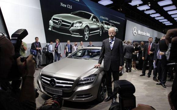 Gamintojo nuotr./Mercedes-Benz Paryžiaus automobilių parodoje