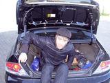 VSAT nuotr./Nelegalas automobilio bagažinėje