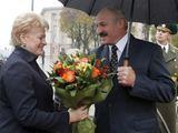 """Reuters""/""Scanpix"" nuotr./Dalia Grybauskaitė ir Aleksandras Lukašenka Minske"