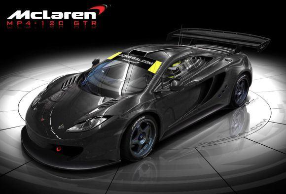 Gamintojo nuotr./McLaren MP4-12C