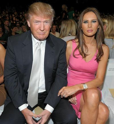 Scanpix nuotr./Donaldas Trumpas su dabartine žmona