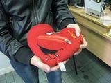 R.Mikalčiūtės nuotr./Iš pirmo žvilgsnio ši širdelė - įprastas žaislas, skirtas vaikams