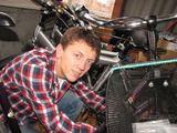 Asmeninio archyvo nuotr./Saulius Balčiūnas, pradėjęs nuo dviračio remonto, savo veiklą ketina plėsti ir steigti maitinimo įstaigą.