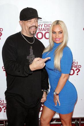 AOP nuotr./Nicole Coco Austin su vyru reperiu Ice-T