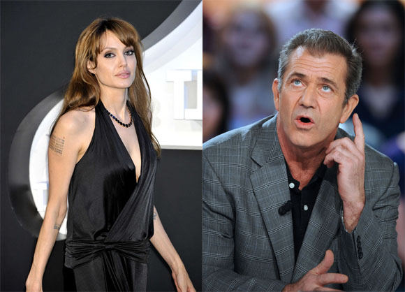 Scanpix nuotr./Angelina Jolie ir Melas Gibsonas