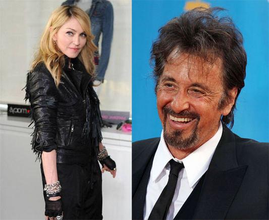 Scanpix nuotr./Madonna ir Al Pacino