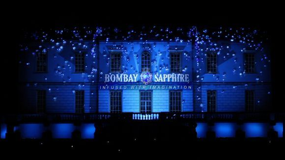 Bombay Sapphire nuotr./3D projekcija