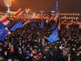 """AFP/""""Scanpix"""" nuotr./Protestuotojai"""