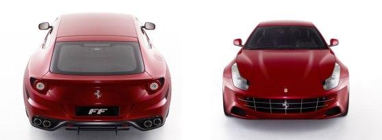 """Gamintojo nuotr./""""Ferrari FF"""" koncepcija"""