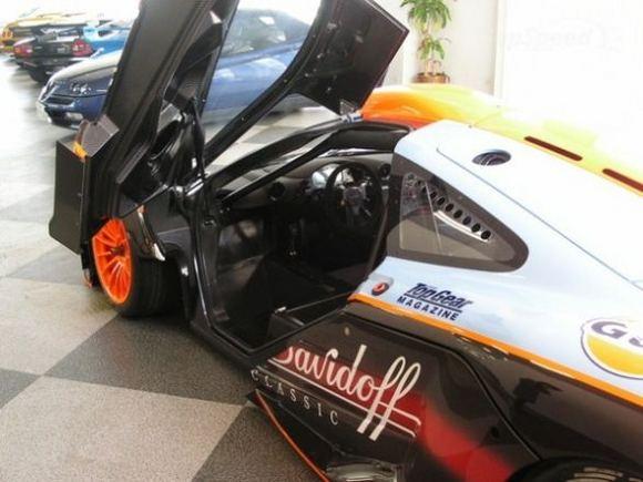 Gamintojo nuotr./Vienintelis likęs McLaren F1 GTR egzempliorius