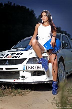 tushkanova.com nuotr./Ralistė ir modelis Inesa Tuškanova
