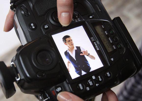 Irmanto Gelūno/15min.lt nuotr./Fotosesijoje gimė naujas Donato Montvydo įvaizdis