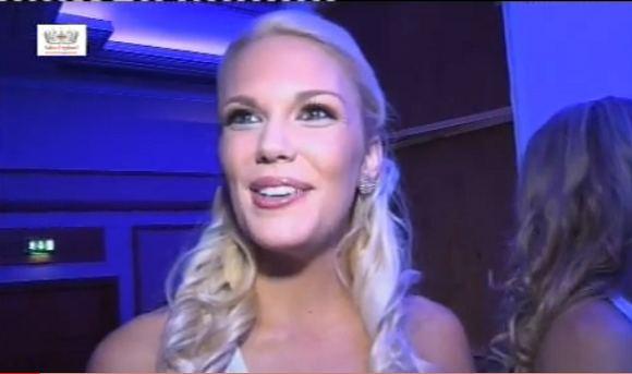 Kadras ia YouTube/Mis Anglija 2010 laimėtoja Jessica Linley