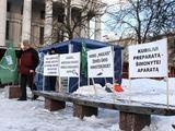 Andriaus Ufarto/BFL nuotr./Bado akcija prie Seimo