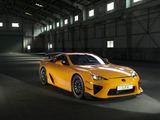 "Gamintojo nuotr./""Lexus LFA Nurburgring"""