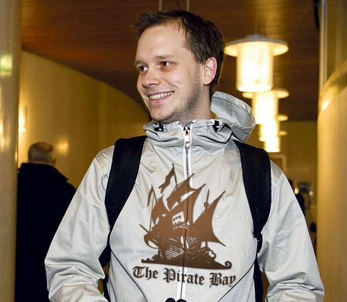 """Vienas iš """"The Pirate Bay"""" įkūrėjų Peteris Sunde."""