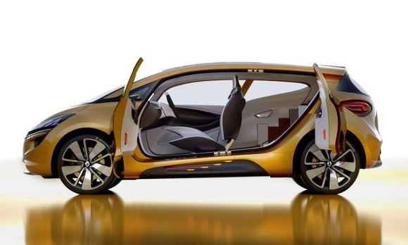 Gamintojo nuotr./Renault R-Space Concept