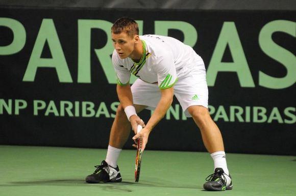 Ričardui Berankiui nepavyksta atsikratyti po Daviso taurės mačo Estijoje prasidėjusių nugaros skausmų.